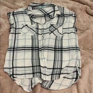 Maurices. Short-sleeved Plaid shirt!